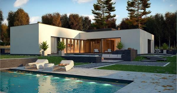 CASA VALCEA   Casa din lemn, zidarie sau containere