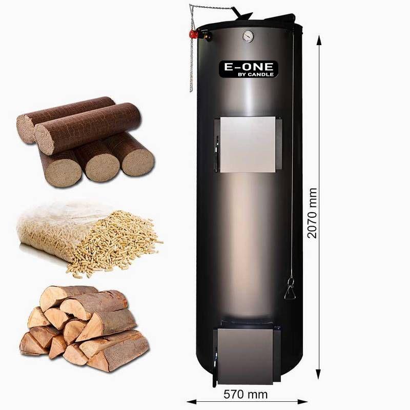 Centrala pe lemne tip lumanare E-ONE 20 KW