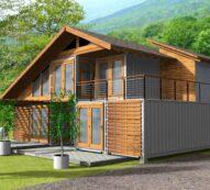 CASA DEVA | Casa din lemn, zidarie sau containere